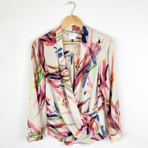 HD in Paris Anthropologie Watercolor Blouse